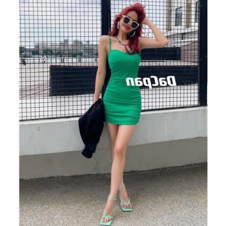 YF54501# 性感显瘦连衣裙 服装批发女装直播货源
