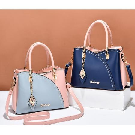 YF69501# 新款夏季时尚女士小包休闲手提包软皮中年妈妈斜挎包一件代发 包包批发女包货源