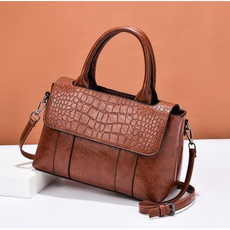 YF69505# 包包女包新款潮石头纹皮大容量单肩斜挎包时尚ins网红手提包 包包批发女包货源