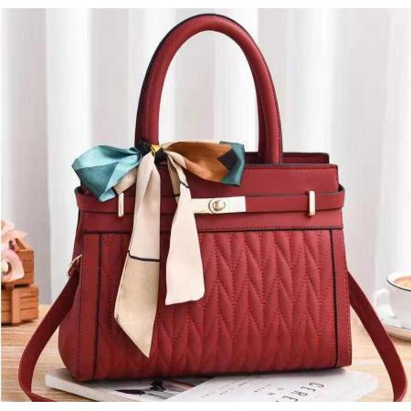 YF69511# 女包包新款韩版优雅菱格手提单肩包时尚斜挎女包bags一件代发 包包批发女包货源
