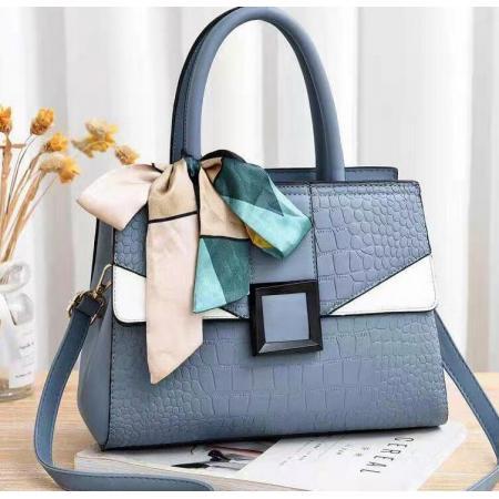 YF69513# 新款女包包鳄鱼纹韩版潮流时尚单肩斜跨手提包一件代发bags 包包批发女包货源